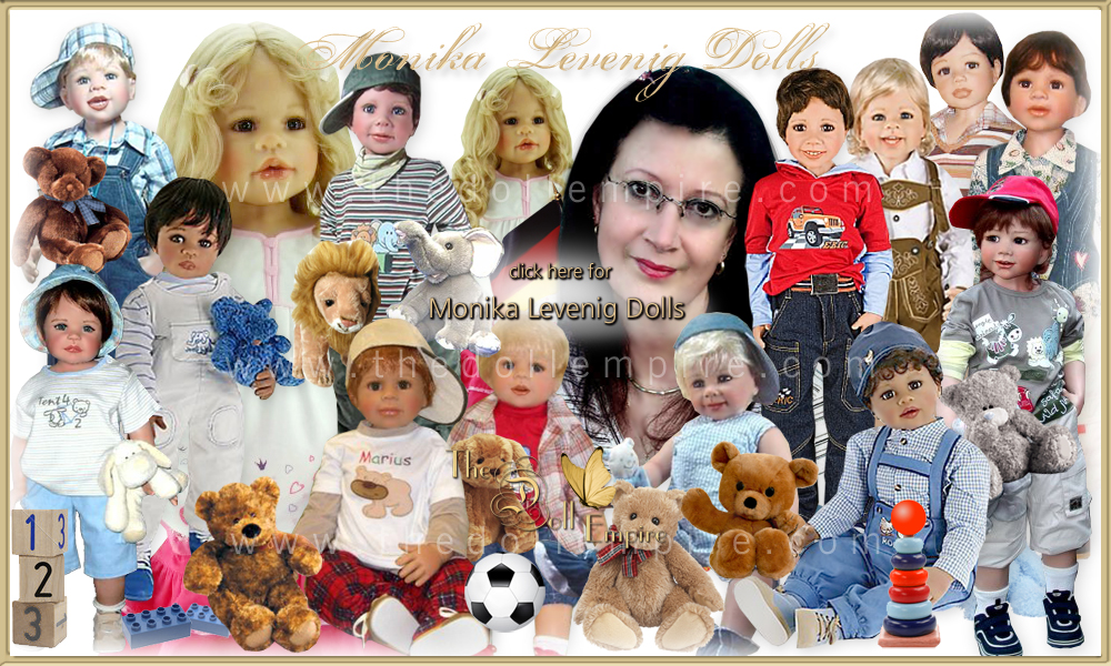 Monika Levenig Dolls Dolls · Limited Edition Collectible Vinyl Silicone Artist Dolls